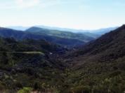 Looking back on Palo Comado Canyon