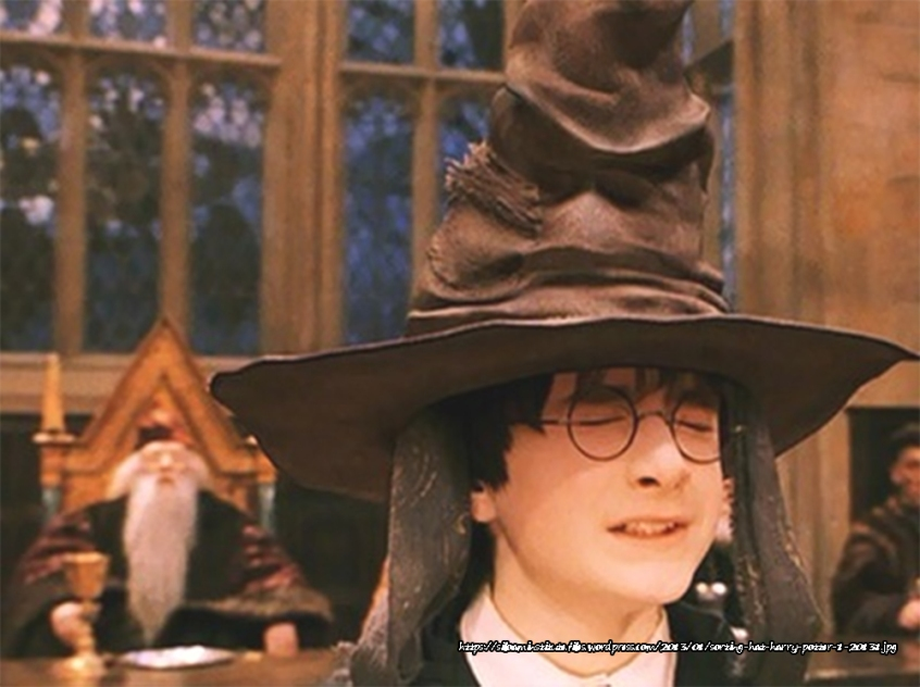Harry Potter's Sorting Hat Illustrates How Predestination (Calvinism) and Free Choice (Arminianism) Can Peacefully Coexist