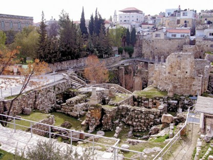 http://www.biblicalarchaeology.org/daily/biblical-sites-places/jerusalem/the-bethesda-pool-site-of-one-of-jesus%E2%80%99-miracles/